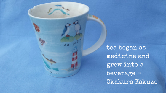 tea began as medicine and grew into a