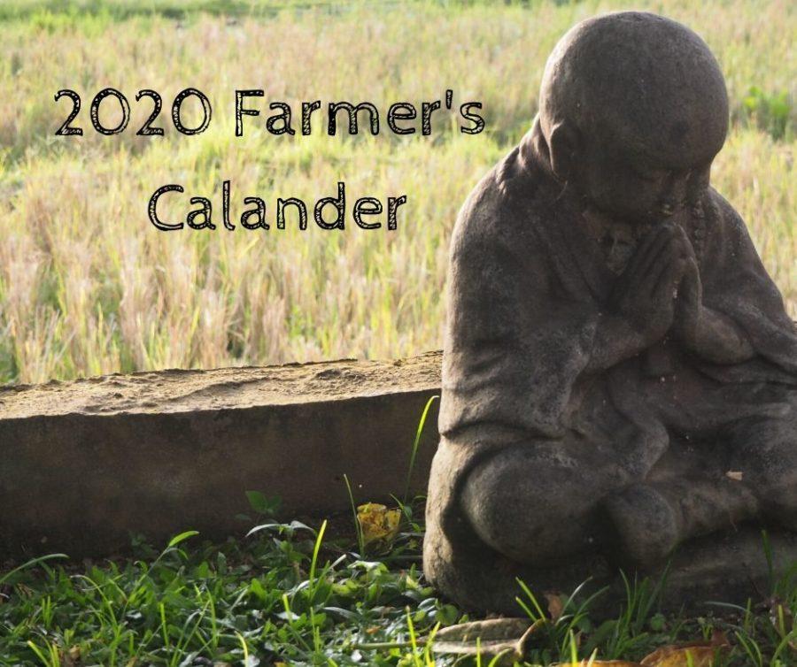 2020 Farmer's Calander
