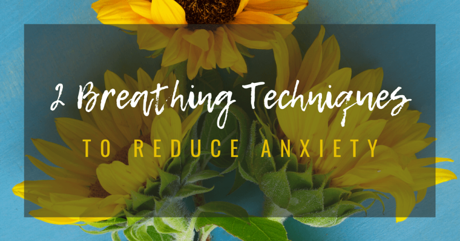 breathing to reduce anxiety