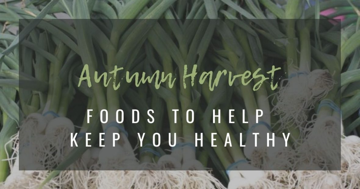 Autumn Foods to stay healthy